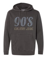 90's Country Music Gray Hoodie