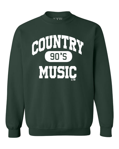 90's Country Tan Tie Dye Crewneck Sweatshirt
