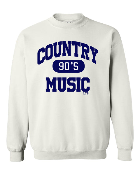 [SUMMER SALE] 90's Country Sweatshirt Crewneck White