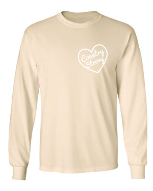 Z Country Strong Long Sleeve Creme