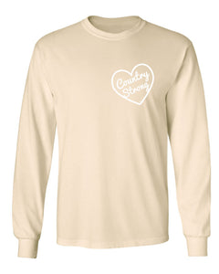 Country Strong Long Sleeve Creme