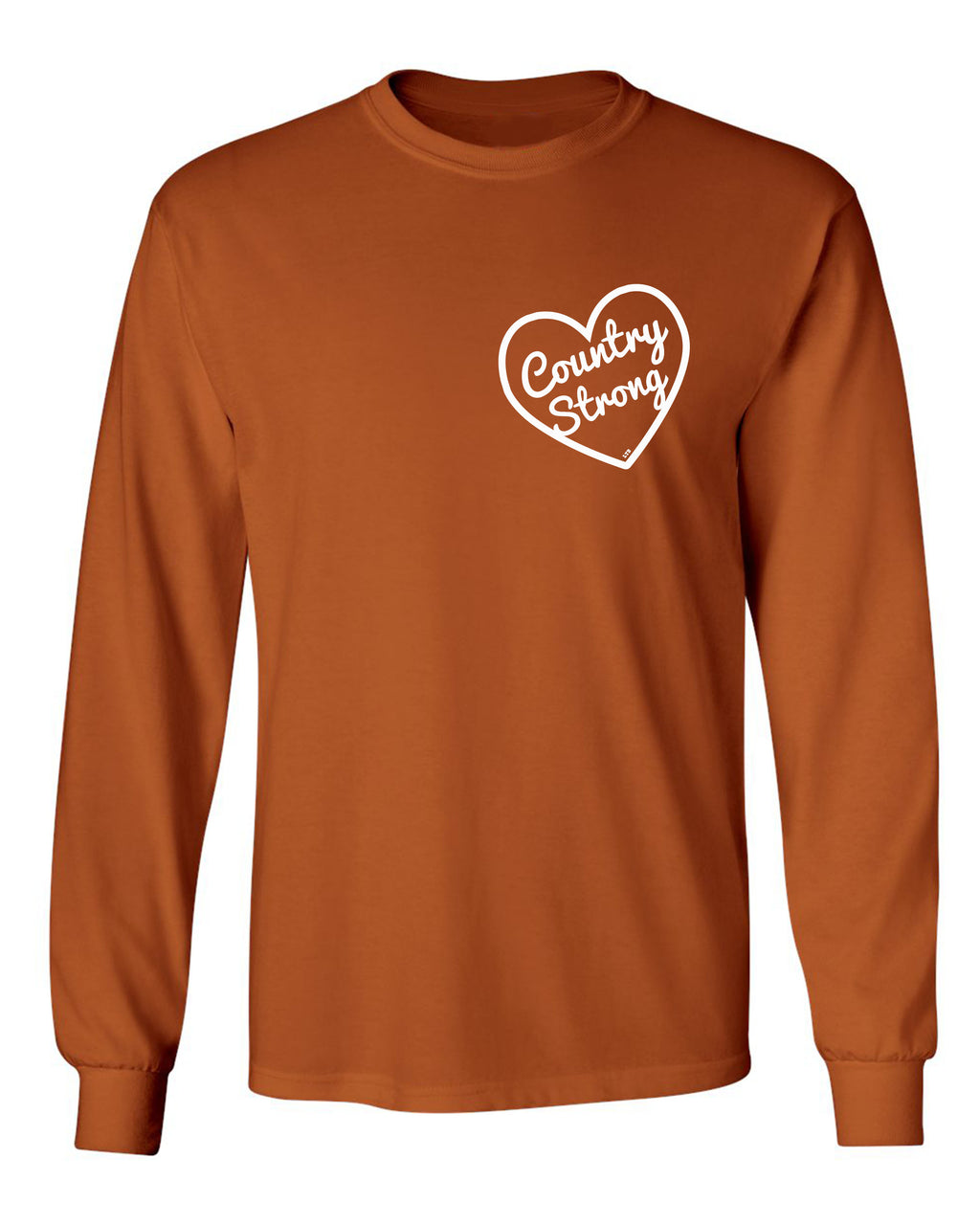 Country Strong Long Sleeve Orange
