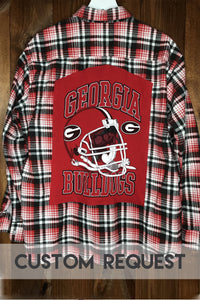 Custom Request College Flannel