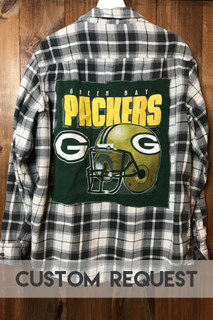 Custom Request Football Flannel