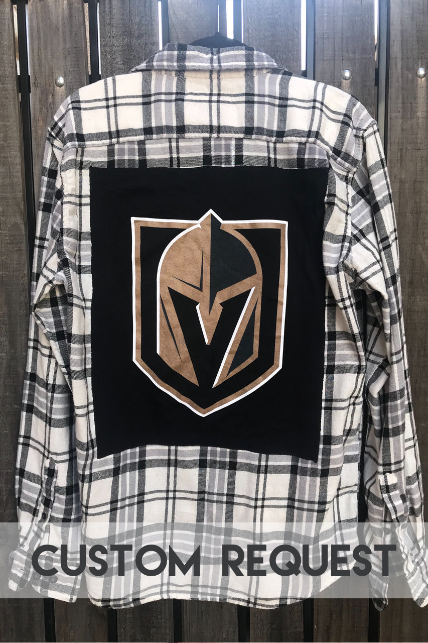 Custom Request Hockey Flannel