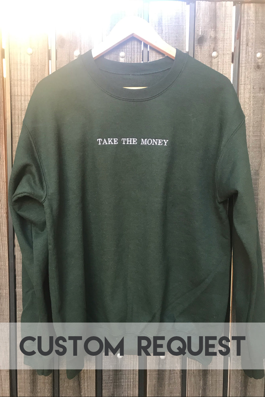 [LTB Customs] Request Minimal Crewneck