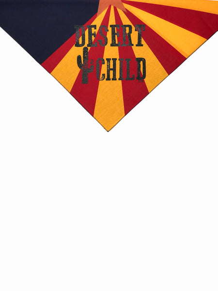 [SUMMER SALE] Desert Child Bandana Arizona Flag