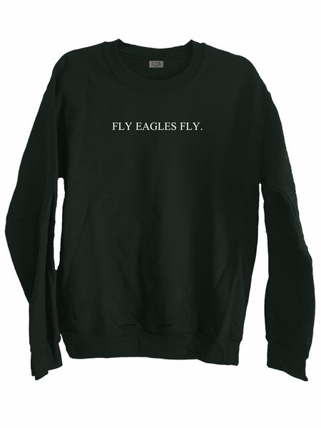 [LTB Customs] Fly Eagles Fly Crewneck Sweatshirt