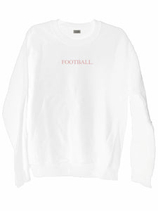 [LTB CUSTOMS] Football Crewneck Sweatshirt