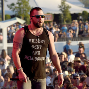 Whiskey Bent and Hellbound Mens Tank