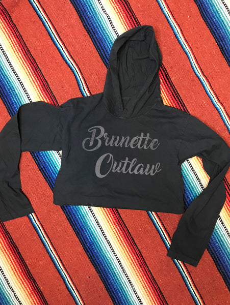 Brunette Outlaw Hooded Long Sleeve