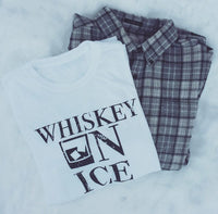 Whiskey On Ice Tee White