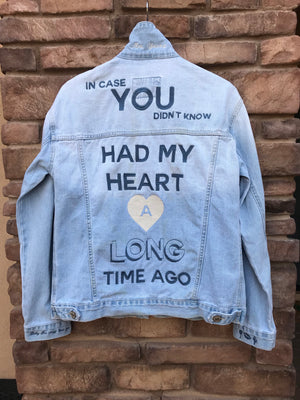Custom Request Embroidered Denim Jacket
