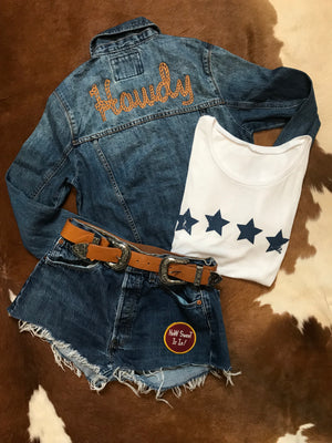 Howdy Denim Jacket 2