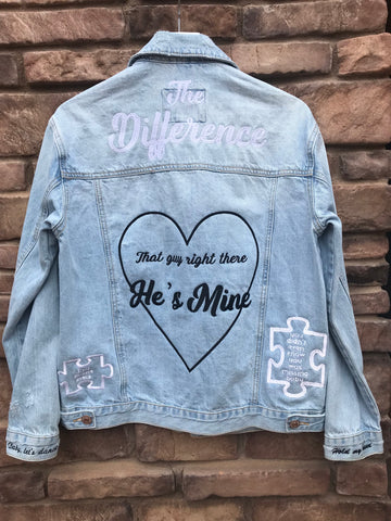 [LTB Customs] Request Embroidered Denim Jacket