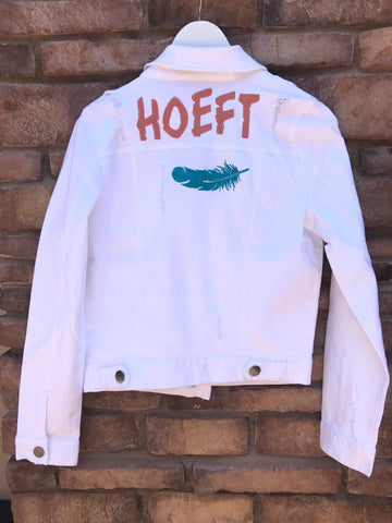 [LTB Customs] Bridal Jacket Large Name Embroidered