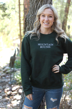Mountain Bound Crewneck Sweatshirt