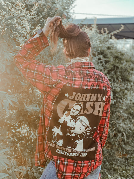 The Man in Black Flannel Medium