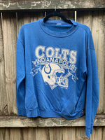 [VINTAGE]  Colts Sweatshirt XSmall