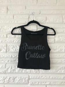 Brunette Outlaw Crop Top