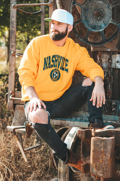[SUMMER SALE] Nashville Sweatshirt Gold
