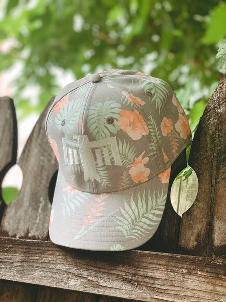 Thunderbird Hat Floral