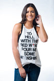 Moonshine High Neck Tank