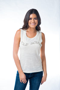 Old Soul Muscle Tank Natural