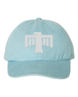 Thunderbird Hat Light Blue/White