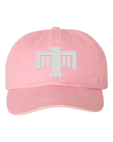 Thunderbird Hat Light Pink/White