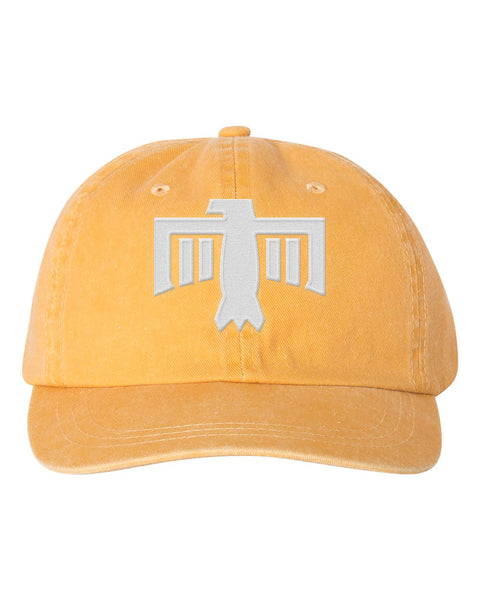 Thunderbird Hat Gold/White