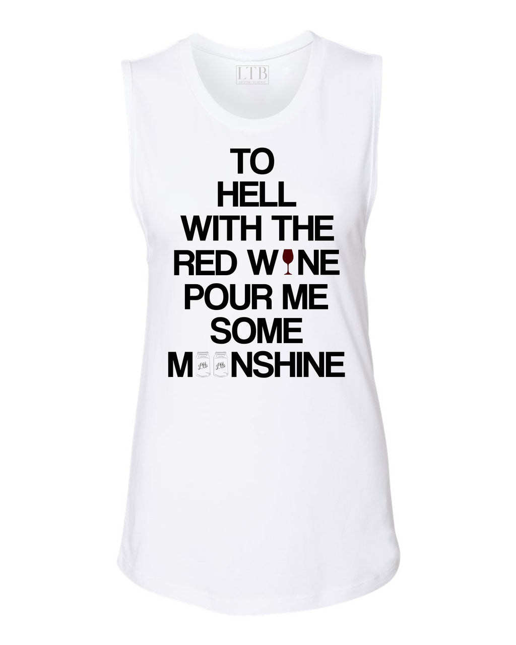 Moonshine Muscle Tank