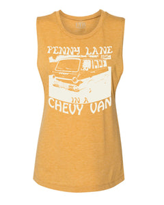 Penny Lane Muscle Tank Gold