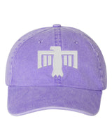 Thunderbird Hat Purple/White