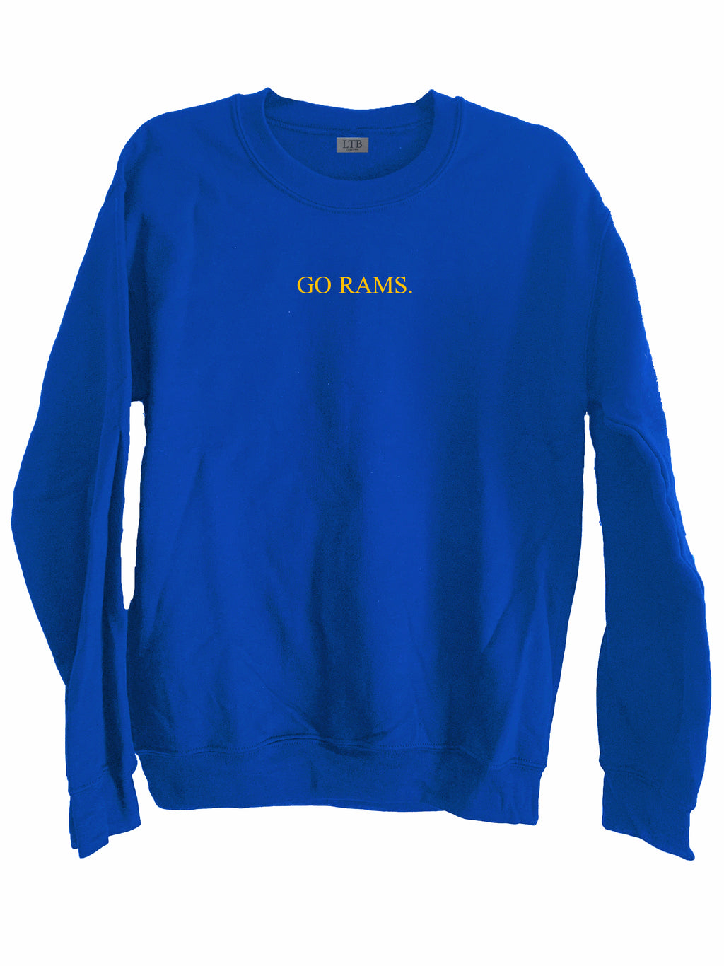 [LTB Customs] Go Rams Crewneck Sweatshirt