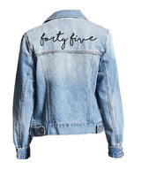 [LTB Customs] Script Denim Jacket 001