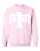 Thunderbird Crewneck Sweatshirt Light Pink