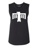 Thunderbird Muscle Tank Black and White
