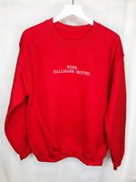 Wine. Hallmark Movies. Crewneck Sweatshirt