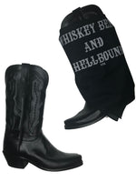 Whiskey Bent and Hellbound Bandana Black