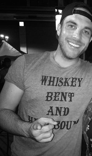 Whiskey Bent and Hellbound Grey Tee