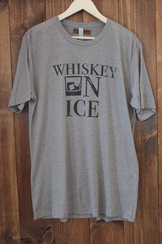 Whiskey Bent and Hellbound Grey Unisex Tee
