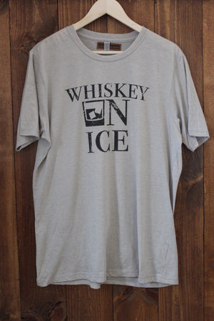 Z Whiskey On Ice Tee Silver