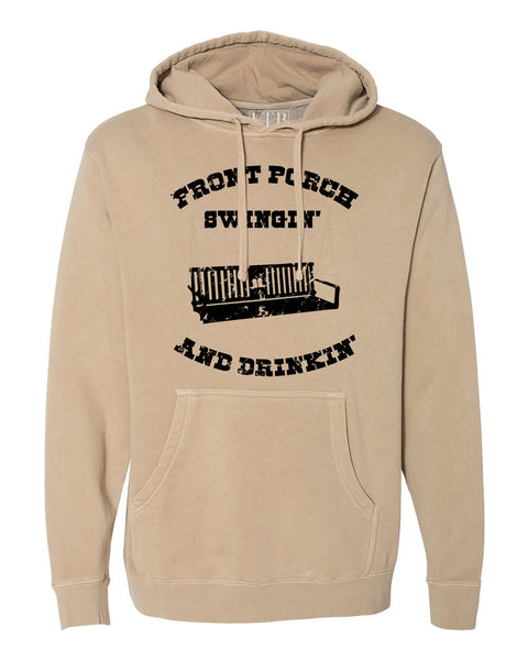 Front Porch Hoodie Sand