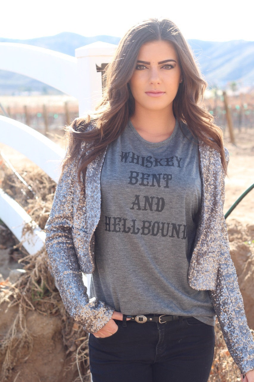[SALE] Whiskey Bent and Hellbound Signature Tank 1.0 Gray