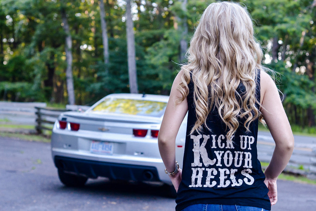 Kick Up Your Heels Tank
