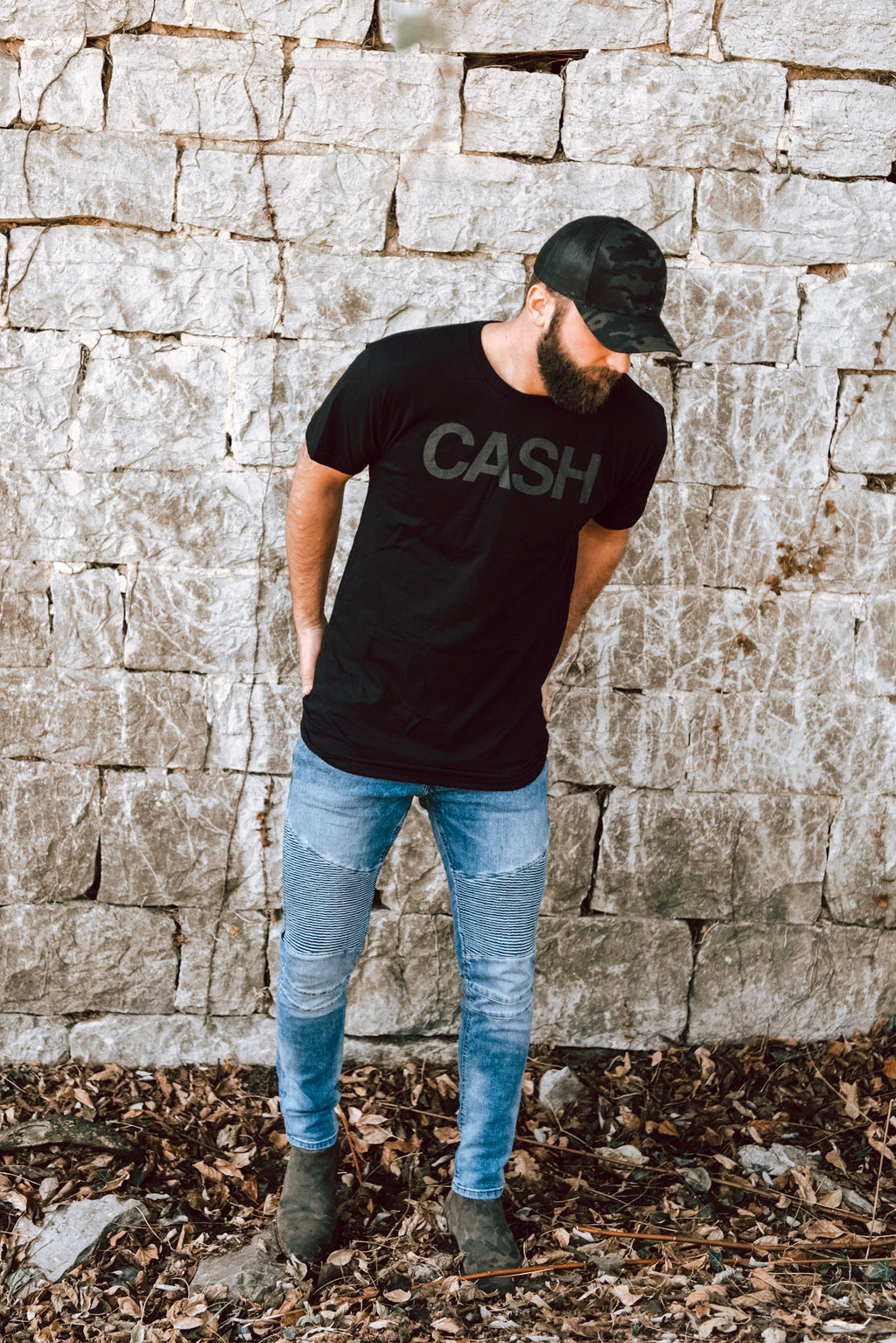 CASH Long Mens Tee