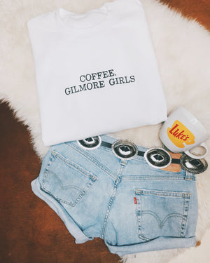 Coffee GG Crewneck Sweatshirt