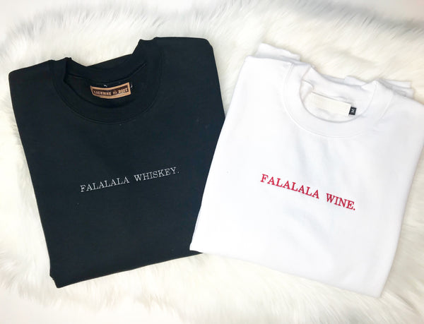 FALALALA Whiskey Crewneck Sweatshirt
