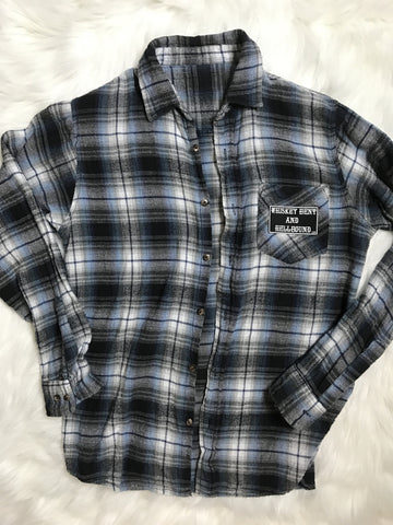 Reconstructed Flannel #1 SOLD OUT